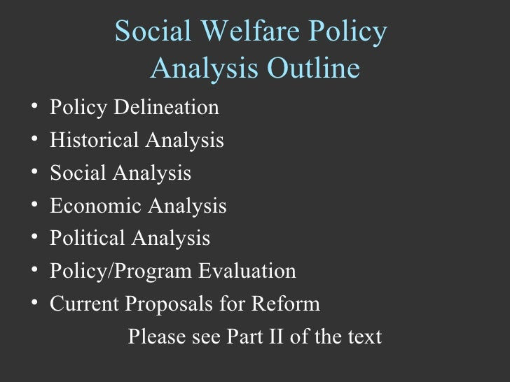 an analysis of the social welfare in america A social welfare system is a government program that provides assistance to needy individuals and families  state or region in the united states, the federal government provides grants to .