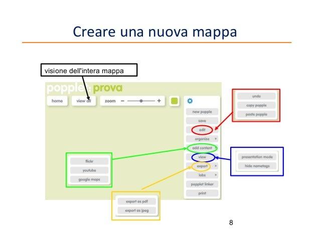 Creare una nuova mappa visione dell'intera mappa  8