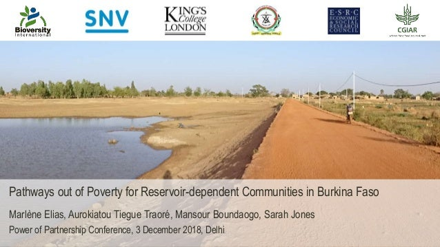 Presentation title Name Surname, Title Date Pathways out of Poverty for Reservoir-dependent Communities in Burkina Faso Ma...
