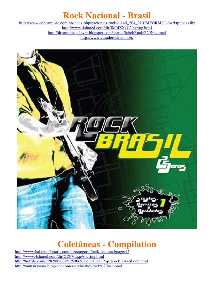 Rock Nacional - Brasil  http://www.concamusic.com.br/index.php/nacionais-rock-c-145_204_210?MFORMULA=rktpjtedxxilir       ...