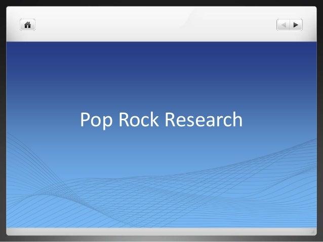 Pop Rock Research