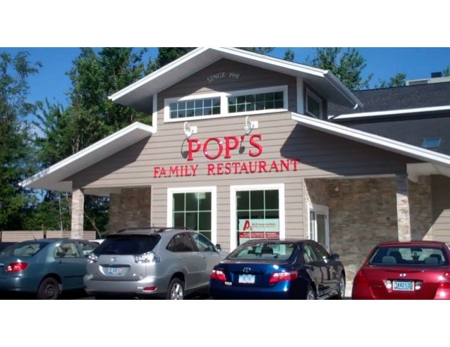 Pop's Family Restaurant 4 minutes drive to the east of