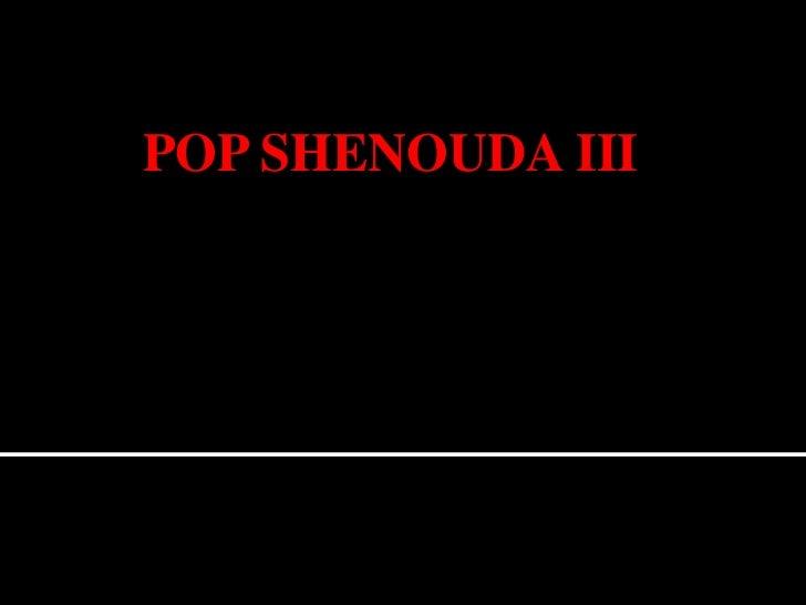 POP SHENOUDA III