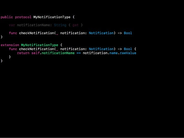 Protocol-Oriented Programming in Swift