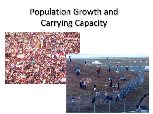 Population Growth andCarrying Capacity