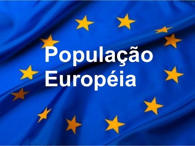 População Européia