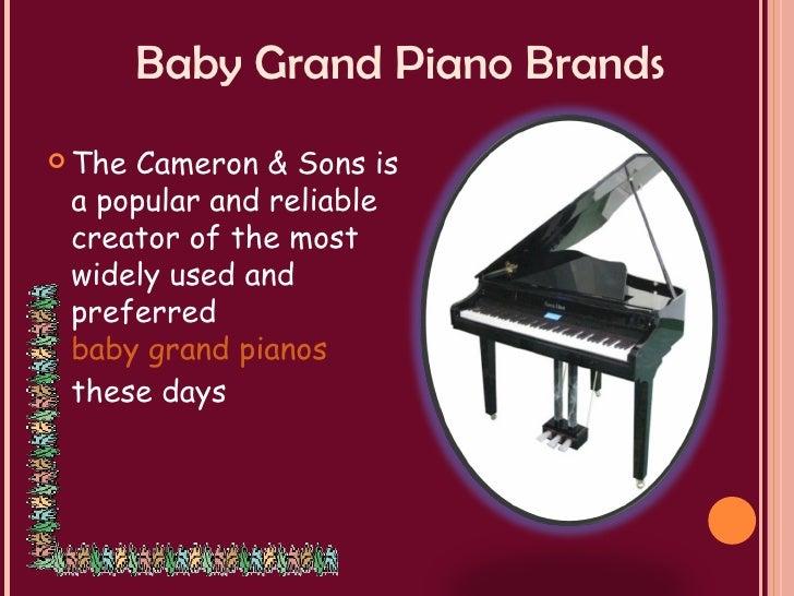 Popular baby grand piano brands