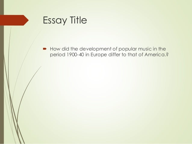 good title for essay about mother