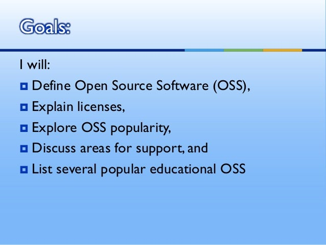 Popular open source software Open source programs