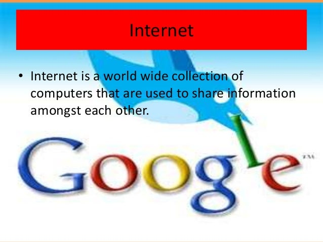 popular services of internet by kashish vyas
