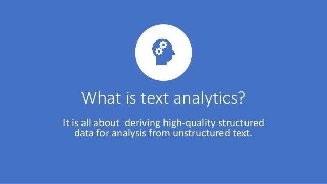 Popular Text Analytics Algorithms Slide 2