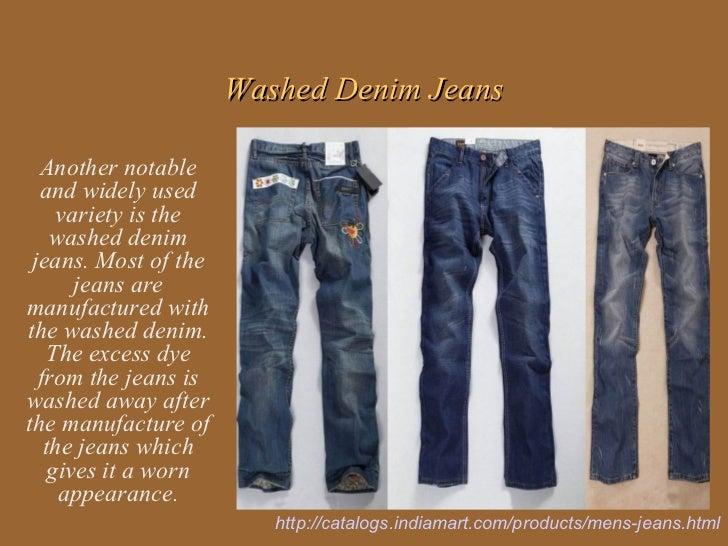 Popular varieties of mens jeans