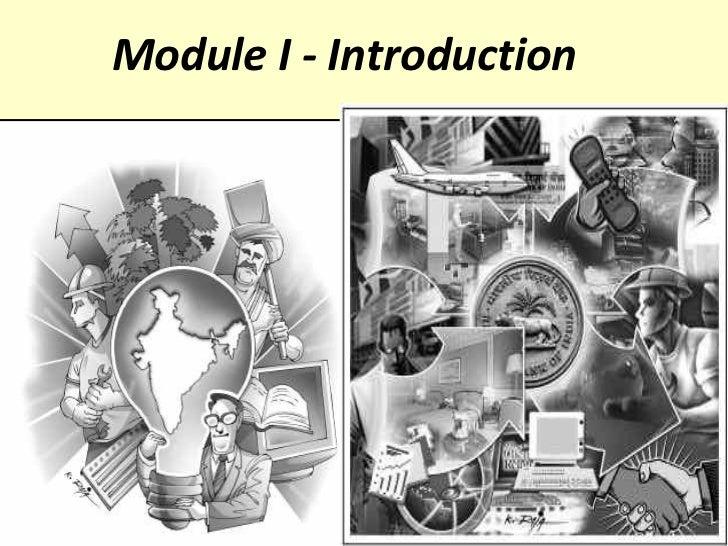 Module I - Introduction