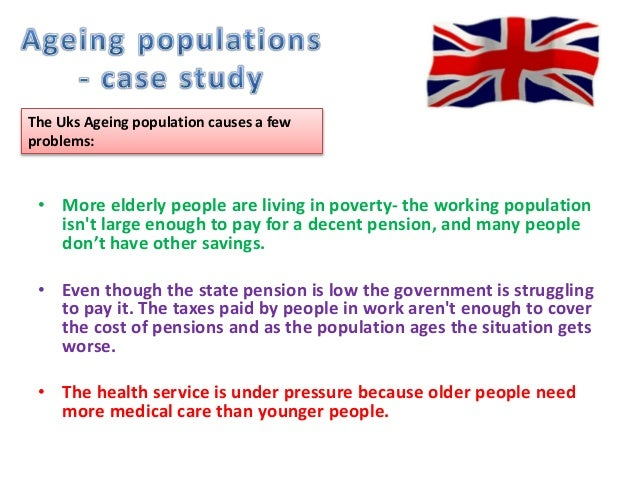 negative impacts of an ageing population The consequences of an aging population an ageing population is when a country has a high number of elderly people elderly people.