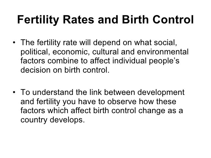 factors affecting birth rate in germany Government policy and total fertility rates : an impacting crude birth rates in germany 2) to consider other factors that are affecting fertility rates.