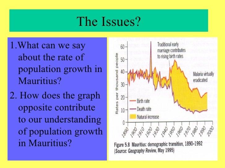 Population growth and economic development: a case study ...