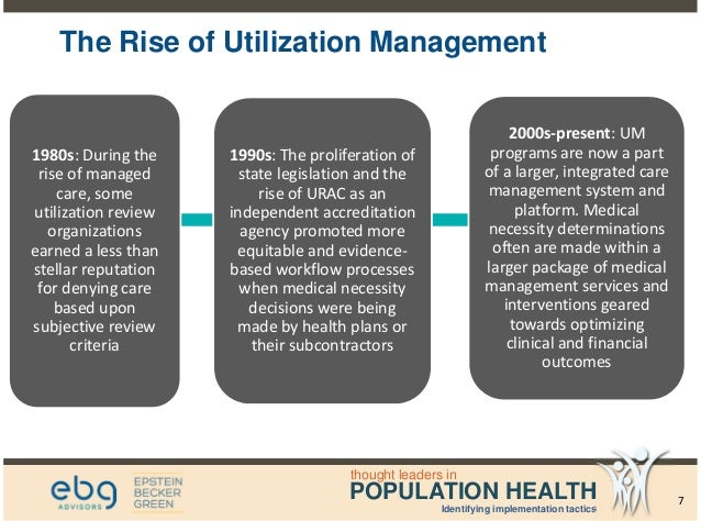 analyzing trends in utilization management - population health webina…, Human Body