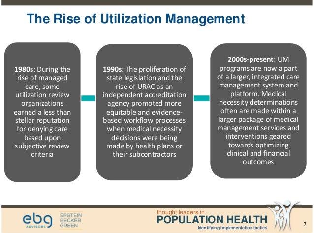 analyzing trends in utilization management - population health webina…, Human Body