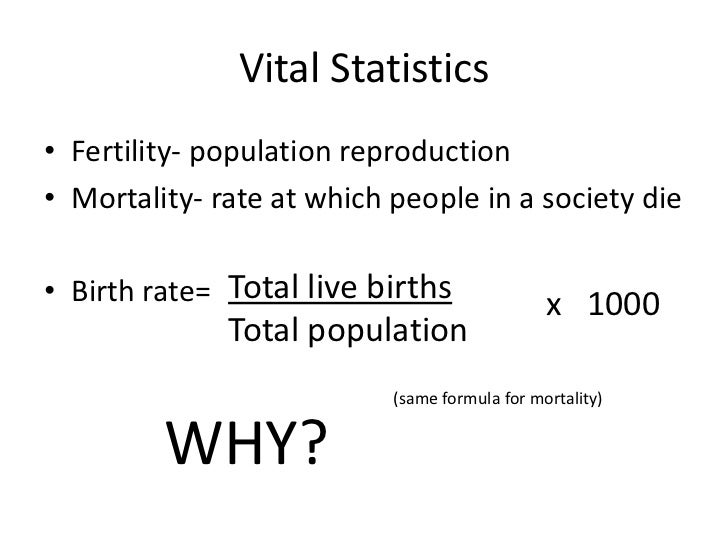 sociology birth rate and death rate Patterns of population growth rates of population growth vary across the world  population will decline if death rate is greater than birth rate.