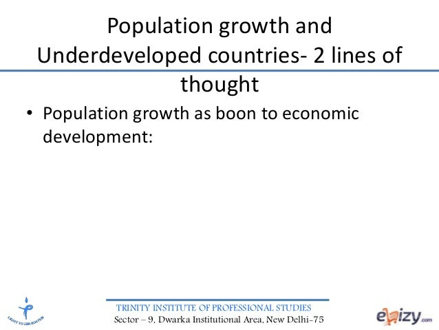 an introduction to the population and economic development International journal of economic development research and investment, vol 1 nos2&32010 30 the relationship between urbanization and introduction.