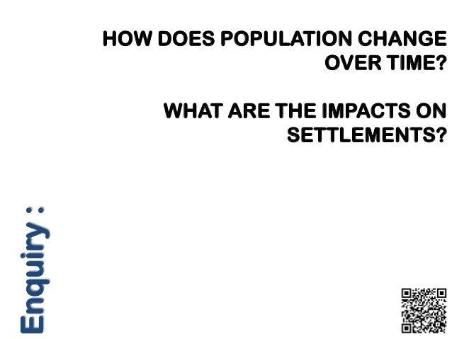 Population and skills lesson
