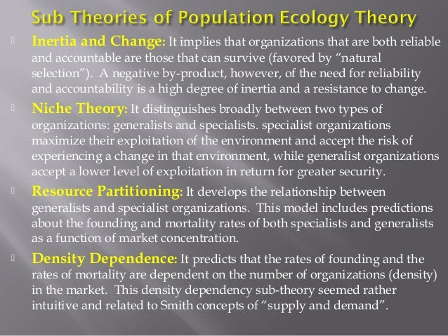 criticism of ecological theory Ecological systems and complexity theory 2 this article postulates that the ecological systems model of urie bronfenbrenner represents a useful theoretical framework for.