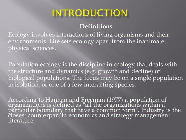 essays on population ecology theory