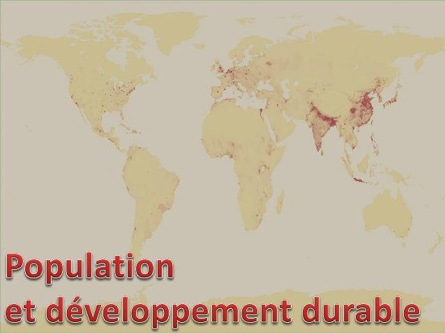 La question du rapport entre croissance démographique et disponibilité en ressources, notamment alimentaires, se pose depu...
