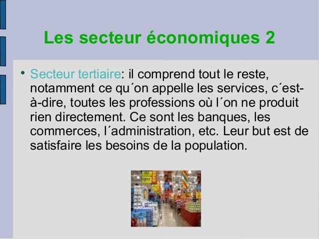 Population Et Secteurs Economiques Carlos Nicolay
