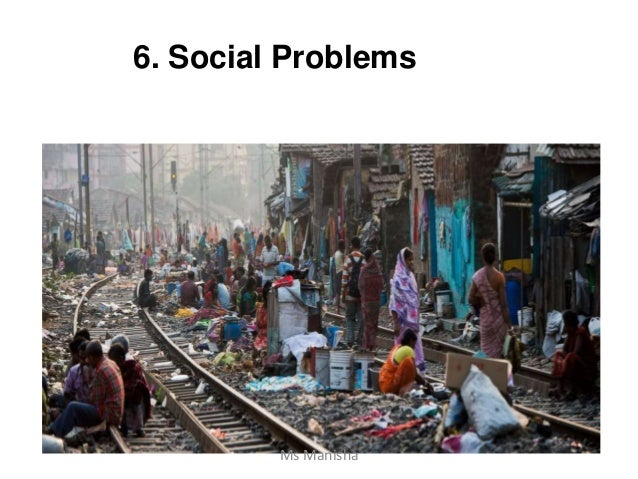 6. Social Problems Ms Manisha