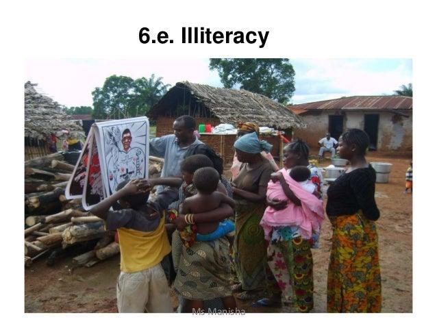 6.e. Illiteracy Ms Manisha
