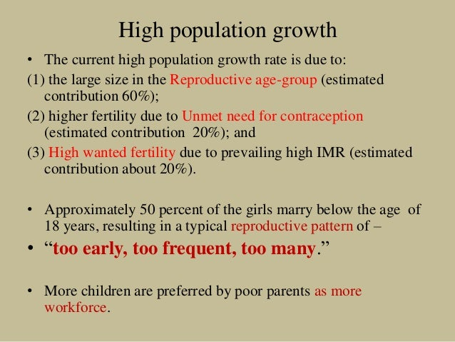 India's population in 2050: extreme projections demand extreme actions