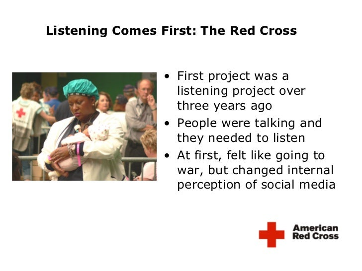 <ul><li>First project was a listening project over three years ago </li></ul><ul><li>People were talking and they needed t...