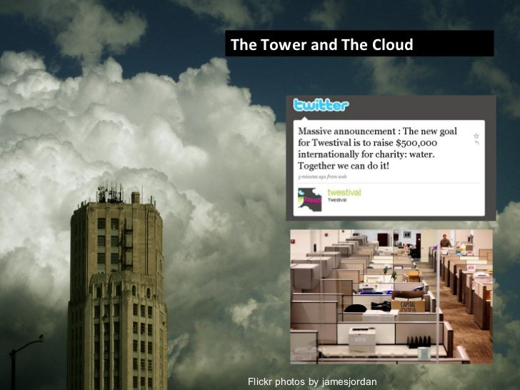 The Tower and The Cloud Flickr photos by jamesjordan