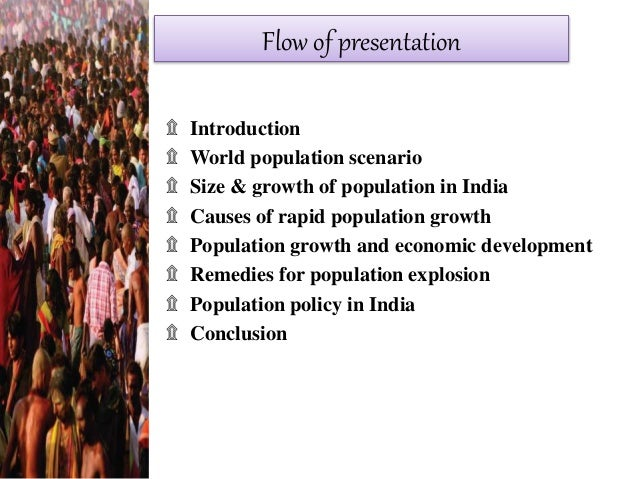 reasons for population growth in india