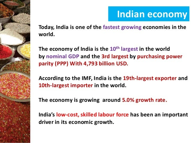 is india growing or developing India is a growing nation in many aspects such as population,pollution,gdp,number of unemployed,middle class and lower middle class population etc, and it is also developing in a way which is not favorable to most of the people.