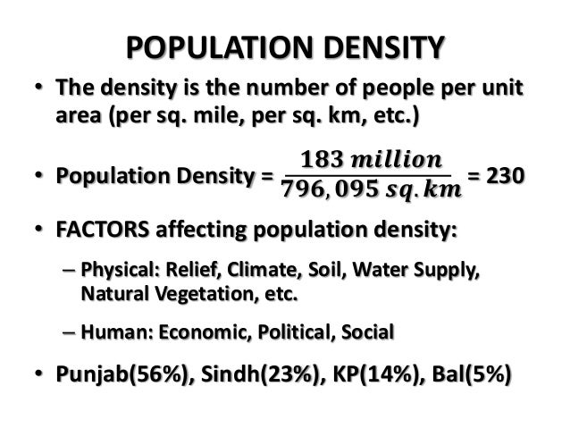Population in Pakistan by Jamshah
