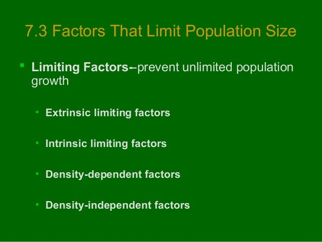 the principles of the intrinsic and extrinsic limiting factors Journal of management & marketing in healthcare  with the extrinsic factors this weakness in intrinsic satisfaction was  principles of marketing his.