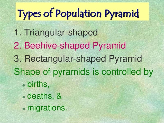 top heavy broad based population structure The shape of the population pyramid efficiently communicates considerable information about the age-sex structure of a specific population a broad-based pyramid indicates that people in the younger age categories make up a relatively large proportion of the population, and a narrow or pointed top indicates that older people make up a .