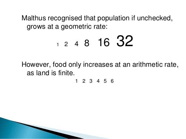 thomas malthus theory of population growth pdf