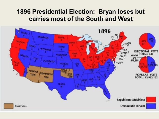 reconstruction populism and populists presidential candidate The populist party, instead of running their own presidential candidate, supported bryan for the presidency william jennings bryan, armed with populist ideas, supported by the democrats and the populist party, lost the election of 1896.