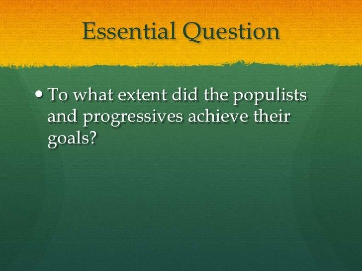 Essay on populism