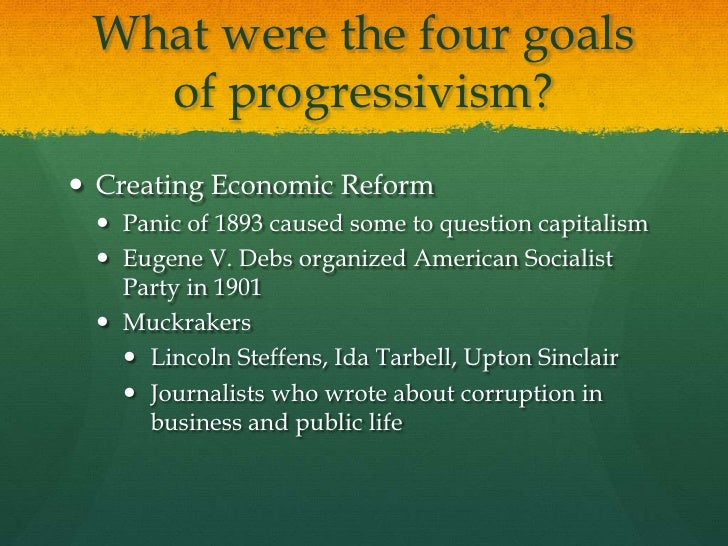 populist and progressives In the late 19th to early 20th century, the ideas of populism and progressivism  weren't that well understood as opposed to how much the people.