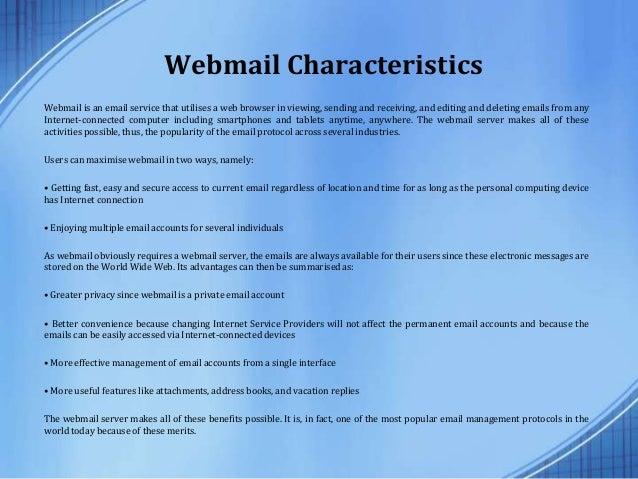 POP vs. IMAP vs. Webmail vs. Cloud Webmail Server