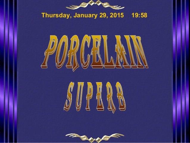 Thursday, January 29, 2015 19:58