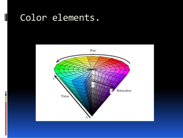 Color elements.