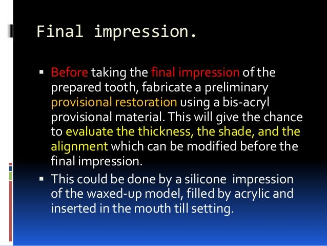 Cementation.  Light curing is preferred for porcelain veneers.  It has the following advantages; in addition to its colo...