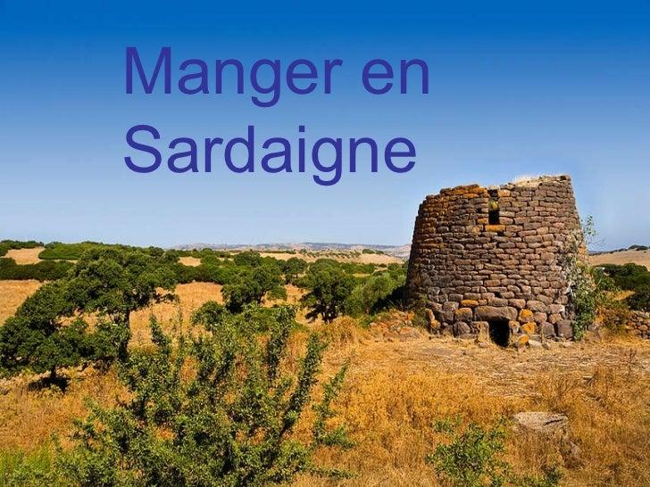 Manger en Sardaigne