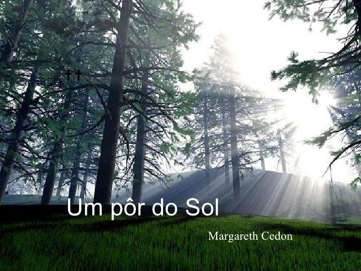 Um pôr do Sol Margareth Cedon