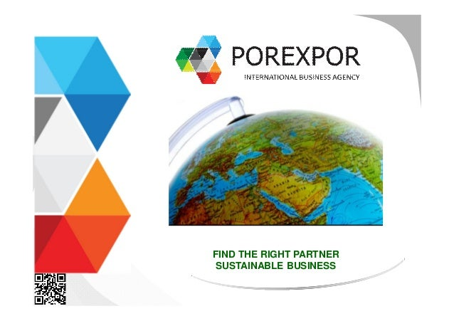 FIND THE RIGHT PARTNER  SUSTAINABLE BUSINESS